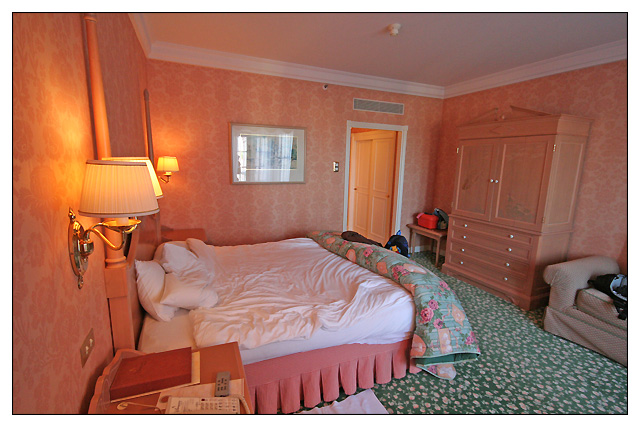 H tel disney disneyland hotel page 25 for Chambre castle club disneyland hotel